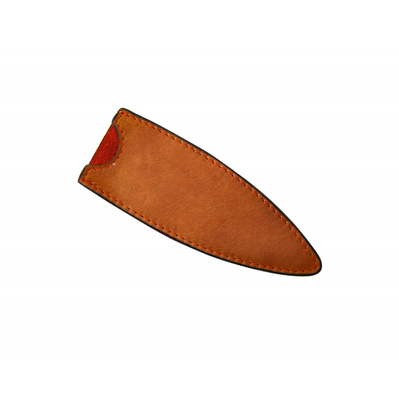 Deejo Leather Sheath, 27g Natural