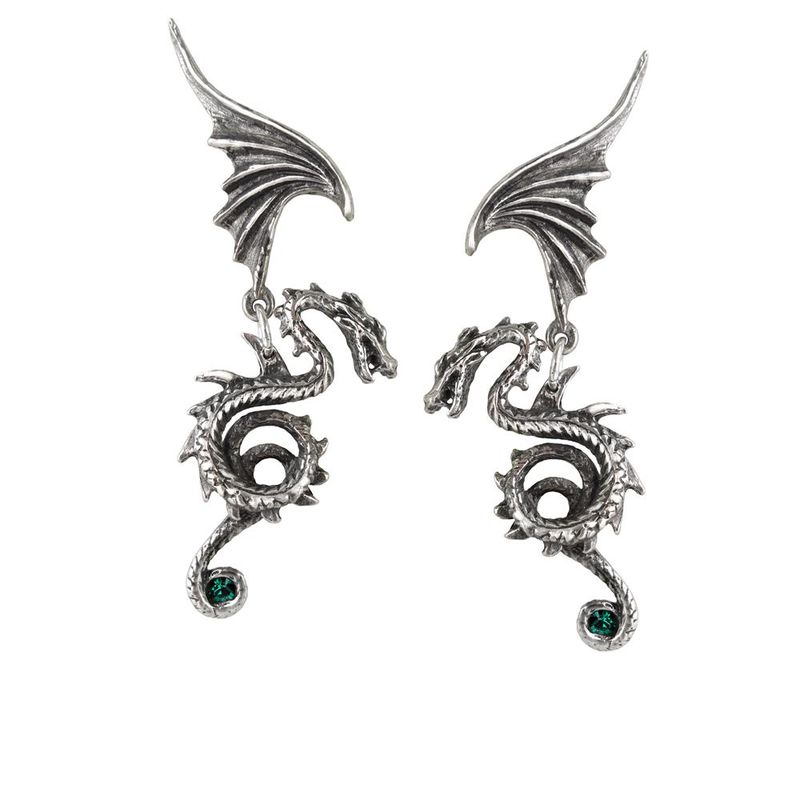 Alchemy Gothic Bestia Regalis - Earrings