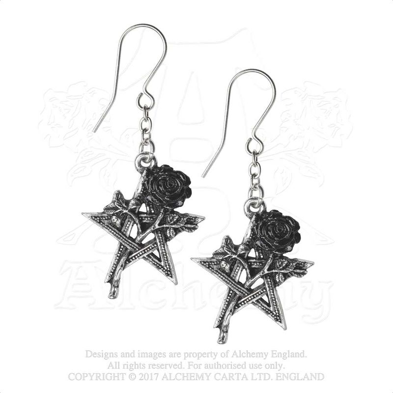 Alchemy Gothic Ruah Vered - Earrings