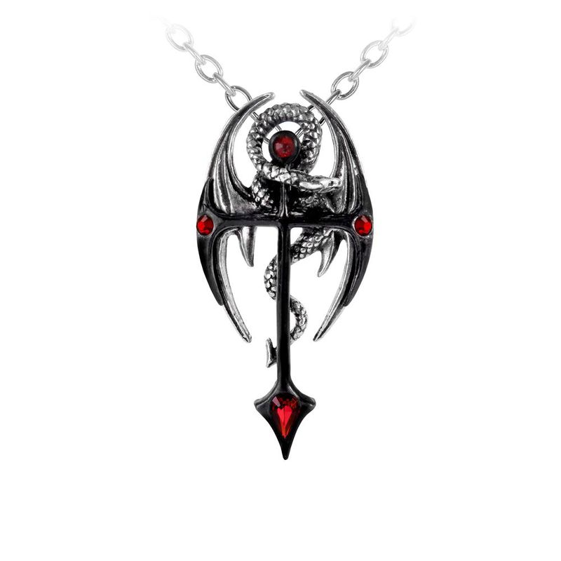Alchemy Gothic Draconkreuz - Necklace
