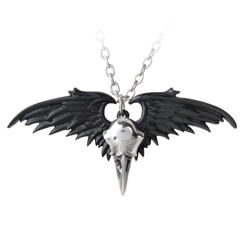 Alchemy Gothic Ravenger - Necklace