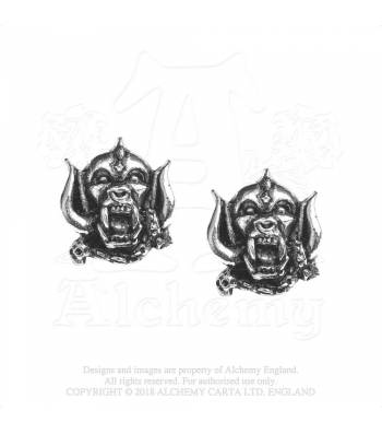 Alchemy Rocks Motörhead Warping  - Earrings