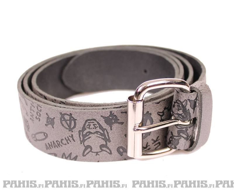 Bullet69 Anarchy - Leather belt